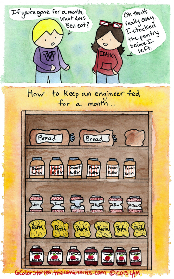 Feeding Your Engineer